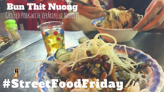Street Food Friday: Vietnamese Grilled Pork with Peanut Noodles
